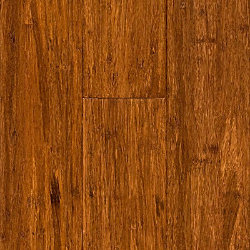Carbonized Strand Wide Plank Solid Bamboo Flooring - 50 Year Warranty